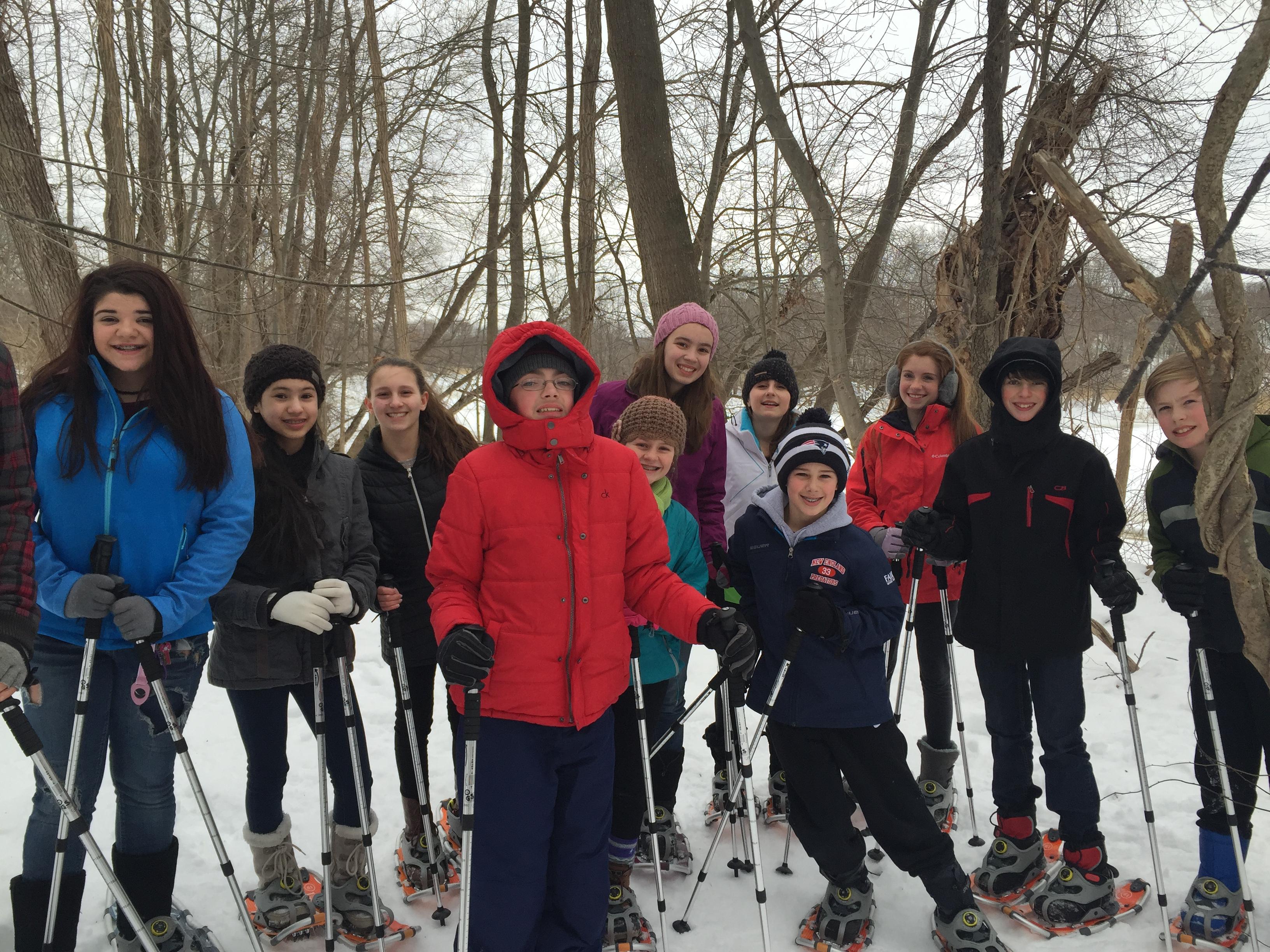 Snowshoeing 2015