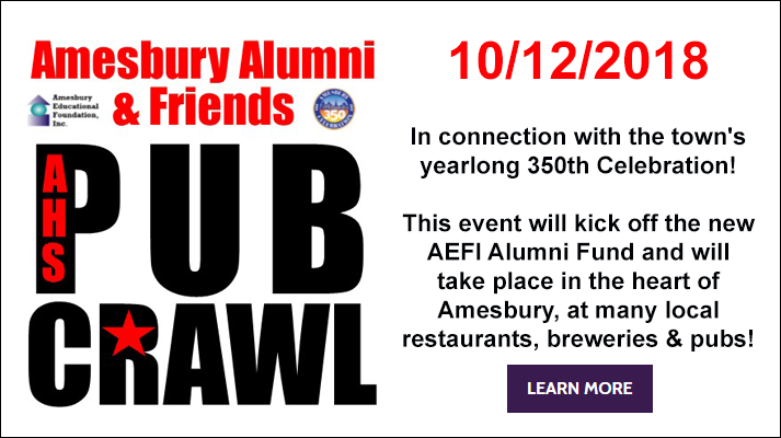 Amesbury Alumni & Friends Pub Crawl