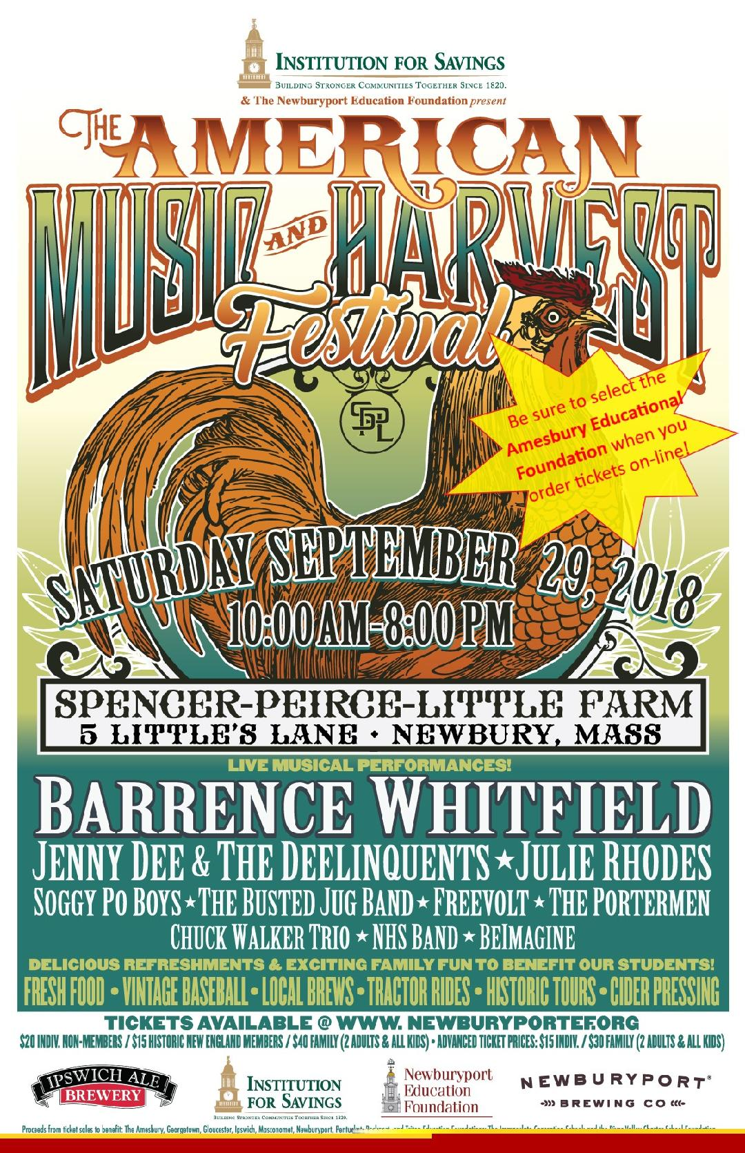 The American Music and Harvest Festival